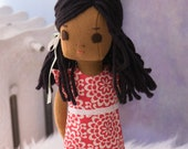 African American Rag Doll, 16.5 inches