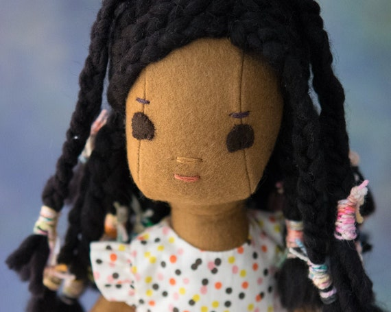 Wool Felt Rag Doll