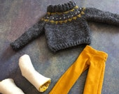 Icelandic Sweater Set for 16.5 inch Phoebe Doll
