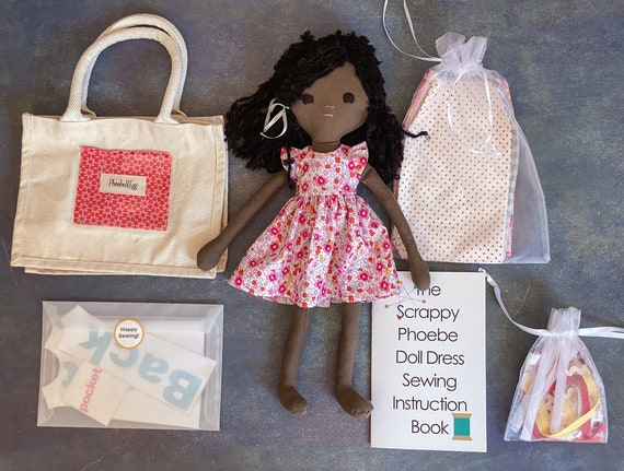 Scrappy Phoebe Learn to Sew Doll and Kit