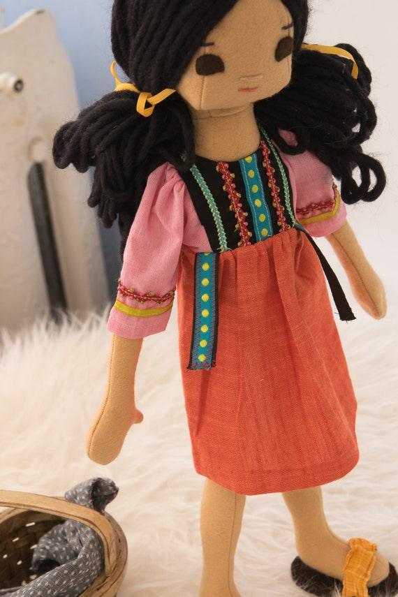 Vietnamese Rag Doll and Wardrobe, Big Sister Doll