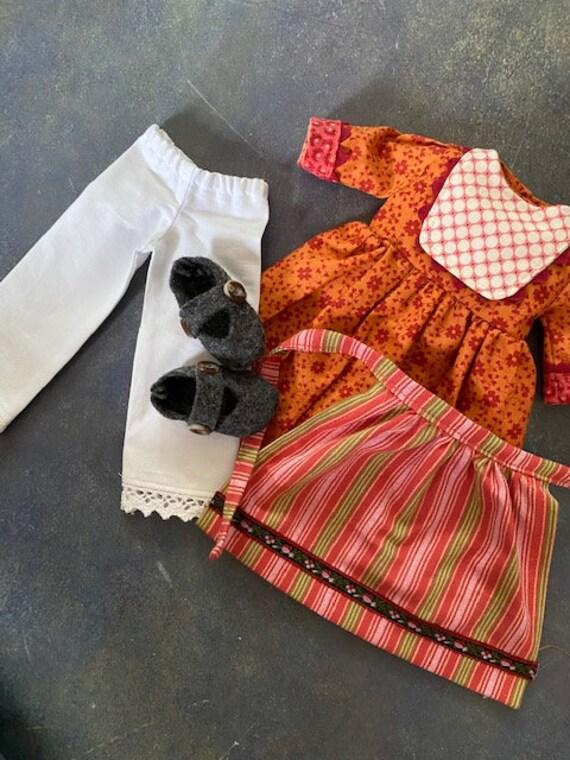 Folk Dress Set for 16.5 inch Phoebe Doll