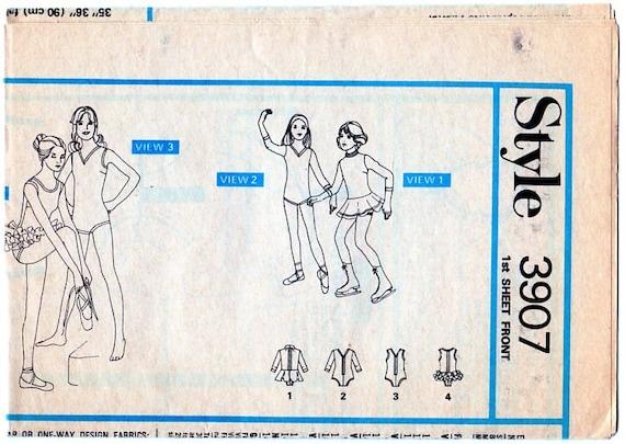 Stil 3907 Tanz Trikot Eiskunstlauf Kleid Ballett Tutu   Etsy