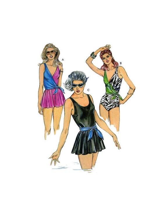 KWIK SEW 1429 Women Swimwear Sewing Pattern Plus Size 1 | Etsy