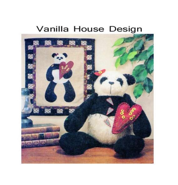 Panda-Bär Schnittmuster Block Quiltmuster McCalls 9164 | Etsy