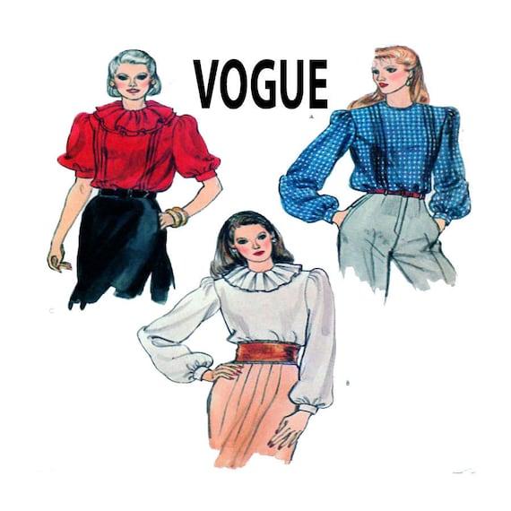 Mode 8189 Frauen Bluse Knopf Shirt Nähen Muster | Etsy