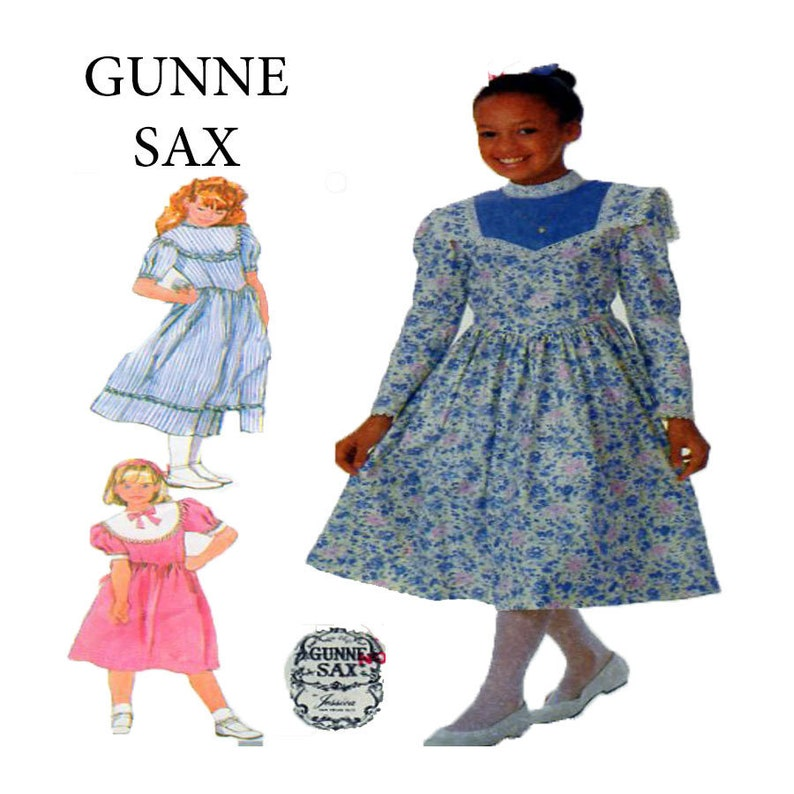 ca5bb1f7f8 GUNNE SAX Jessica McClintock Victorian Style Child Dress