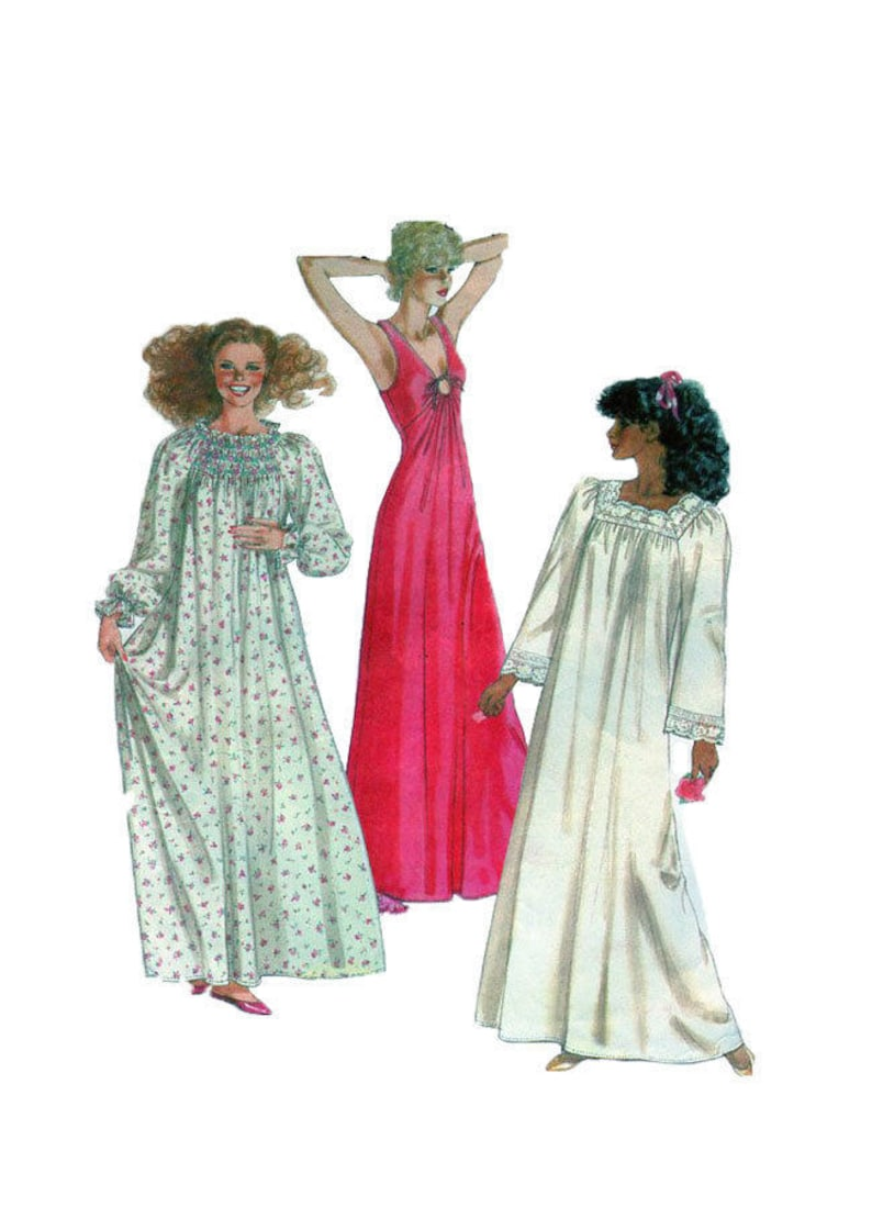 4dcf81f258 Women Sleepwear Sewing Pattern McCalls 8301 Negligee