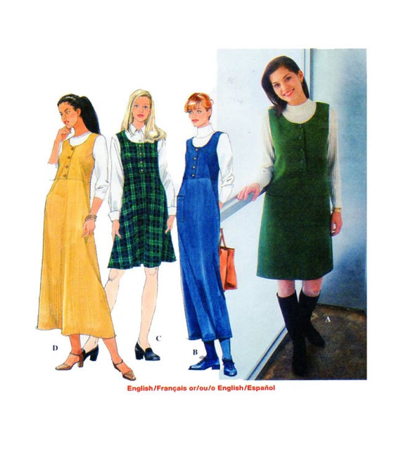 927f3de65c5c Women Jumper Dress Sewing Pattern Simplicity 8225 Maxi