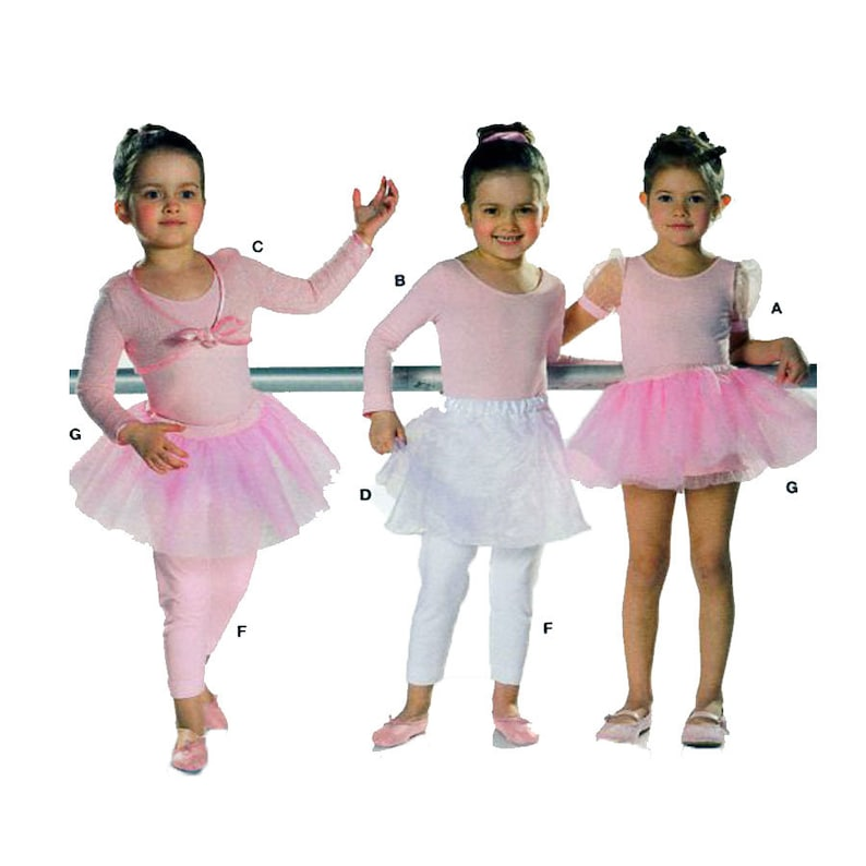 311ba4db3e82 BURDA 9629 Dance Ballet TuTu Leotard Skirt Body Suit
