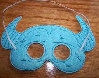 Blue Monster Mask