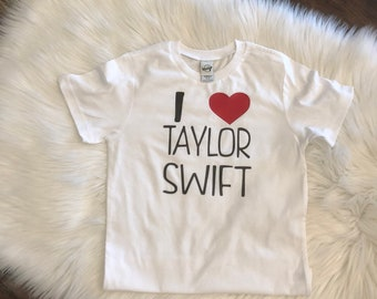 bb3091e39 Boys I love Taylor Swift Concert tshirt boys taylor Tank Shirt