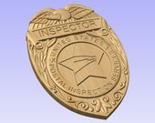 Special Purchase for Tony Anglada - Custom  USPS Postal Inspector Badge 3D V Carved Wood Sign