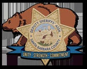 Special Purchase for amyrleonard09- Custom Deputy Sheriff's Assn Badge- Personalized Badge 3D V Carved Wood Sign