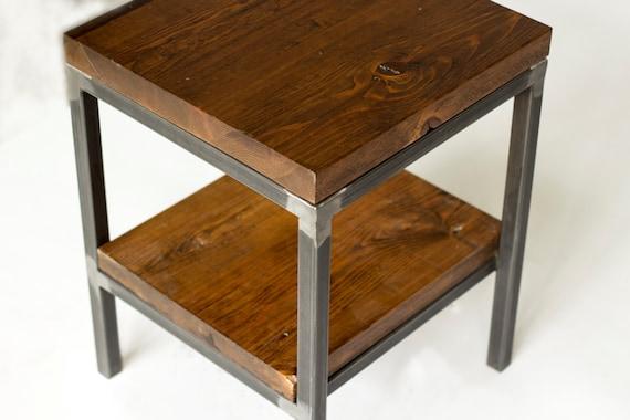 Stupendous Reclaimed Wood Side Table End Table Bare Design Lamtechconsult Wood Chair Design Ideas Lamtechconsultcom