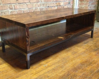 Reclaimed Wood Coffee Table: Schroeder Design
