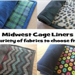 Midwest cage liner, Guinea pig fleece cage liner, Rabbit cage liner, Hedgehog fleece,Fleece bedding,Pre wicked,Uhaul pad,CUSTOM made for you