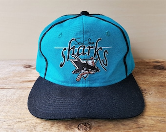 71c175a2 ... ireland san jose sharks vintage 90s snapback hat the game official  licensed nhl baseball cap 2