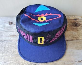 DURAN DURAN Rare Original 1984 Tritec Music Painter Hat Vintage 80s New  Wave Band Promo Cap Concert Crowd Caps Size Small 52 cm 20 1 2