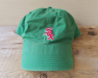 online store be82f a2992 norway chicago white sox vintage strapback dad hat clover st pattys day  official licensed mlb major