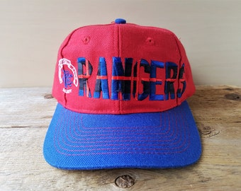 d26b9ba2a2f Vintage Adidas RANGERS Football Club Snapback Hat Glasgow F.C. Ready 2 Tone  Sports Baseball Cap Soccer Scottish Premiership Ballcap