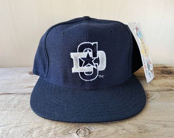 88cc916038465 Dallas COWBOYS Original Vintage 90s New Era 5950 Pro Model Fitted Wool Hat  7 5 8 Official NFL Classic Team Collection Cap NWT Deadstock