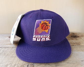 on sale 6148a 2983c Phoenix SUNS Original Vintage 90s New Era 5950 Pro Model Fitted Wool Hat 7 5  8 Official Licensed NBA Basketball Team Cap NWT Deadstock NoS