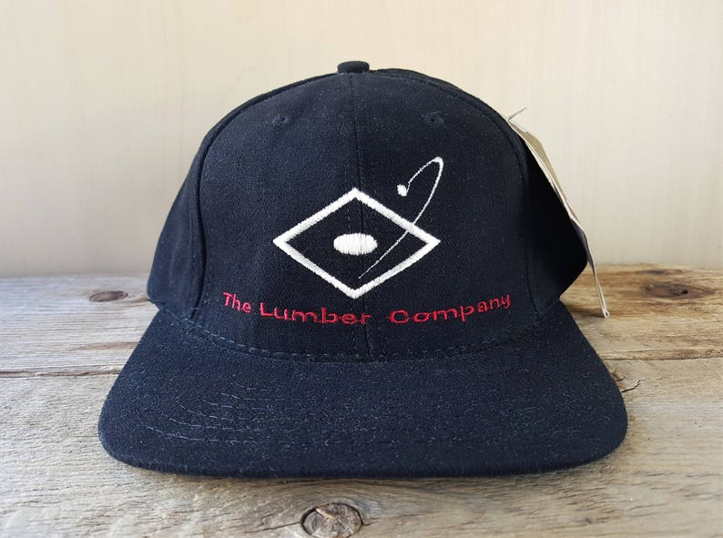 d31200714f97 THE LUMBER COMPANY Baseball Apparel Vintage 90s Strapback Hat