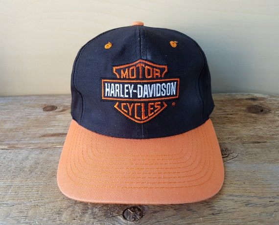 HARLEY DAVIDSON Motorcycles Vintage Snapback Hat  RiDE  3f26f4f36a65