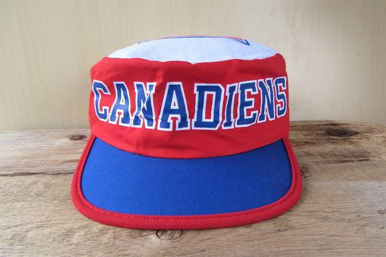e316317c7b9 MONTREAL CANADIENS Vintage Hockey Painter Hat Official NHL