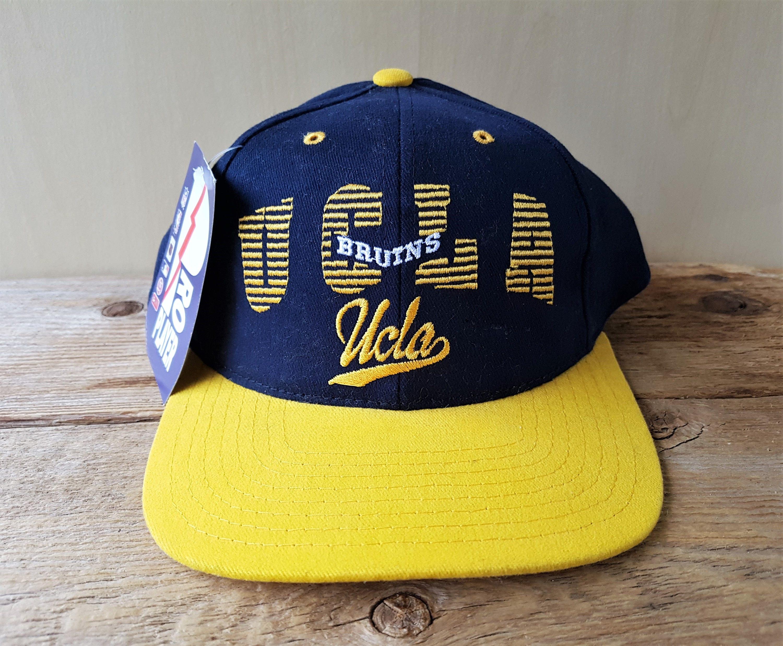 21f9f9bcd425 UCLA BRUINS Vintage 90s Snapback Hat Pro Player NCAA Deadstock | Etsy