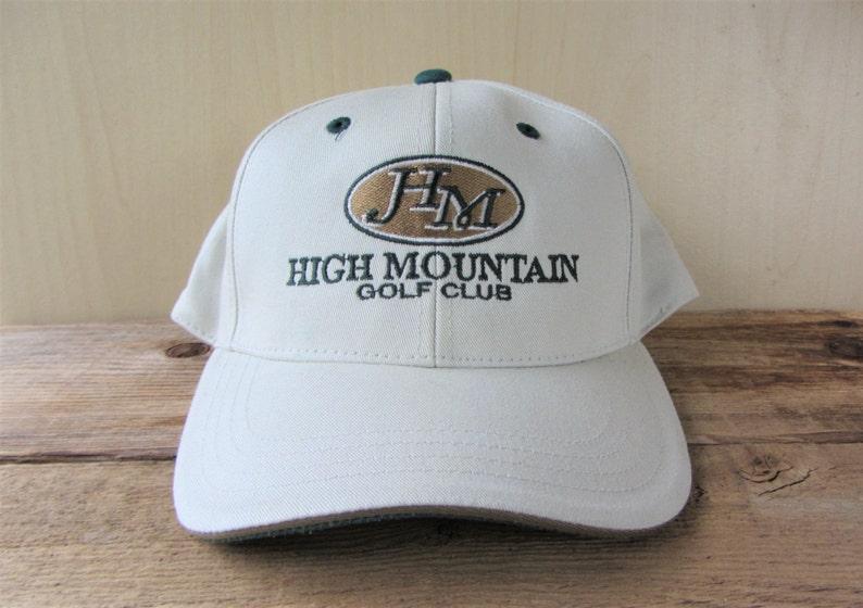 07586b37 HIGH MOUNTAIN GOlf Club Vintage Imperial Headwear Hat Defunct | Etsy