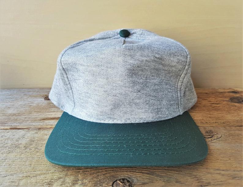 a1590eb97e854 Vintage 90s CASUAL Style Fleece Jogger Snapback Dad Hat Blank