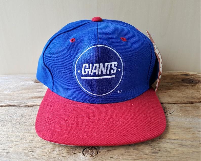 af0265ad70a New York GIANTS Vintage 90s Snapback Hat by AJD Official NfL | Etsy