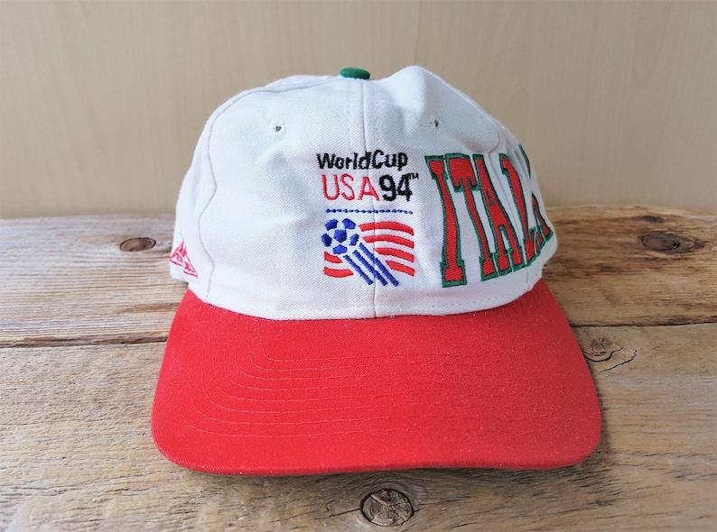 0cddd0efdf0bbd ITALIA 1994 FIFA World Cup Soccer Italy Vintage 90s Snapback | Etsy