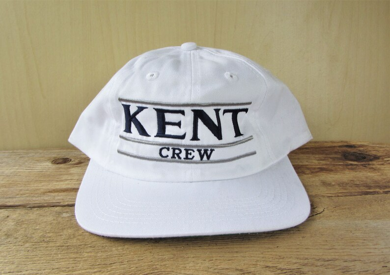 KENT School CREW Vintage 90s Snapback Hat The Game Split Bar  717d4703c189