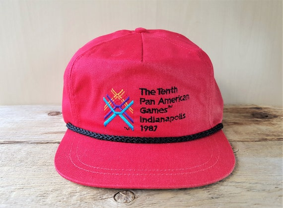 912500ff05e2 The Tenth PAN AMERICAN Games Indianapolis 1987 Leather