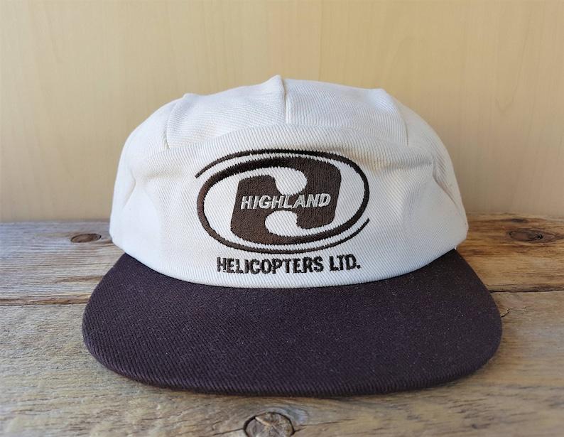 2346d2dcc329f HIGHLAND HELICOPTERS LTD. Original Vintage 5 Panel Hat