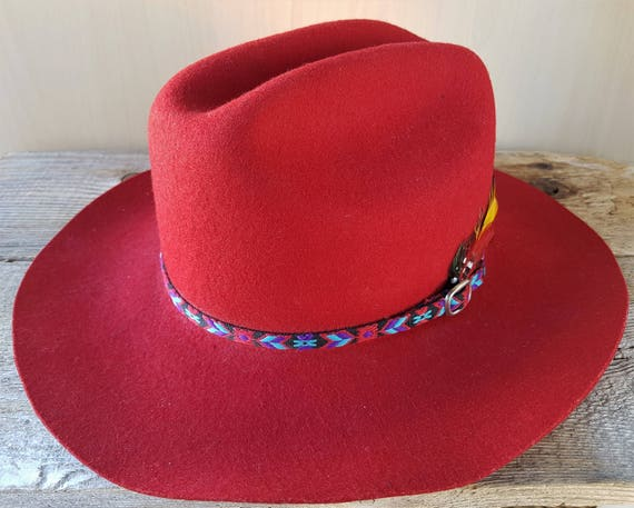 SMITHBILT Brand RILEY   McCORMICK of Calgary Red Fur Felt  6fdb30b1128