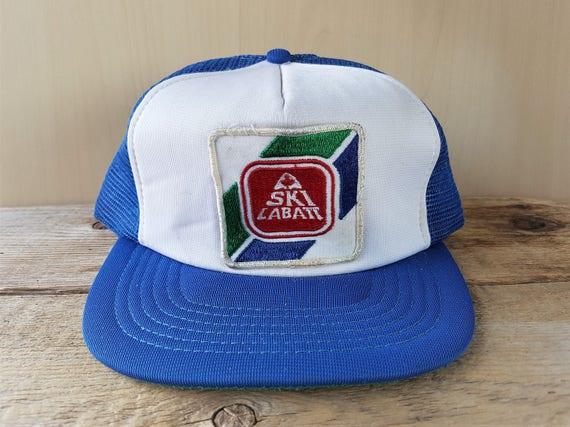 SKI LABATT CANADA Classic Freestyle Original Vintage 80s Blue  1a04c38c802