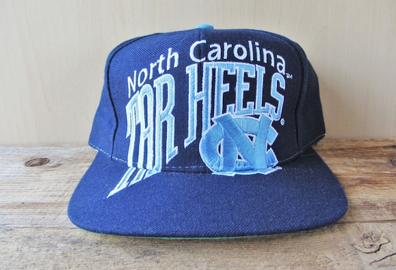 4acd59bfc60 North Carolina TAR HEELS Original Vintage 90s Big Logo