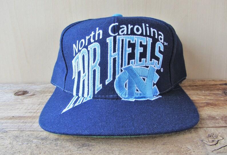 reputable site dadbc 68c54 North Carolina TAR HEELS Original Vintage 90s Big Logo   Etsy