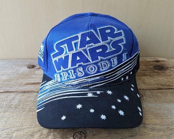 e25947178a2 Vintage STAR WARS Episode 1 Jeff Gordon 24 Driver Snapback