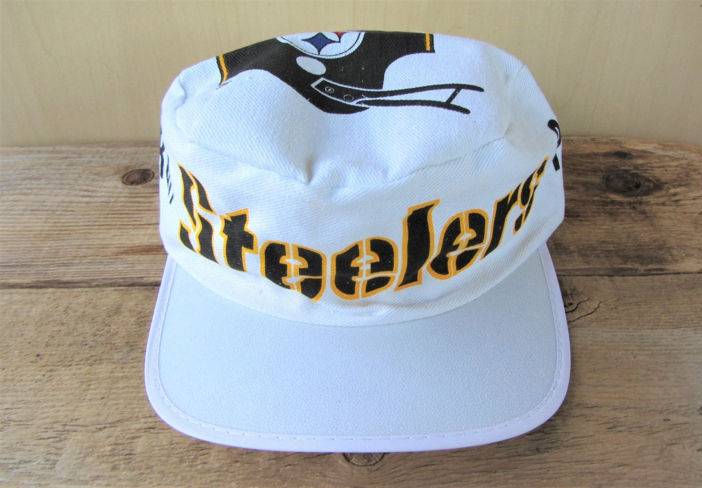 74f71019033 PITTSBURGH STEELERS Vintage Football Painter Hat Official NFL