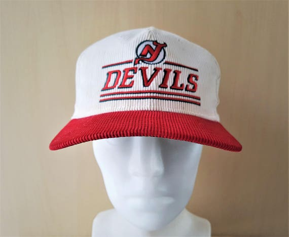 cd22fbda76e New Jersey DEVILS Original Vintage 80s Official Licensed NHL