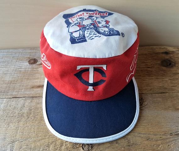 632585734a33c ... coupon code for minnesota twins vintage 80s baseball painter hat  official mlb etsy ac4f1 498c8