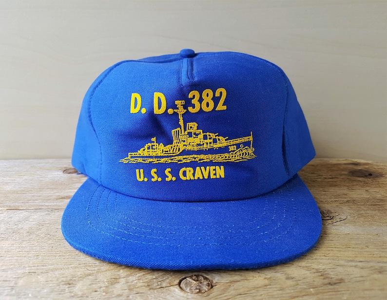 fa328d1f269 Vintage USS CRAVEN D.D. 382 United States Navy Destroyer