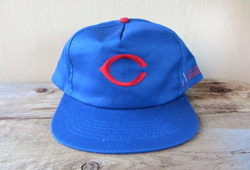 ddc67ec895e32e CHICAGO CUBS Original Vintage Snapback Hat Allied American | Etsy