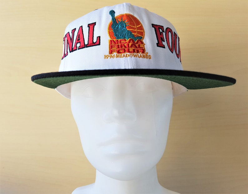 sports shoes c7994 38204 NCAA Final Four 1996 Meadowlands Vintage 90s Snapback Hat   Etsy