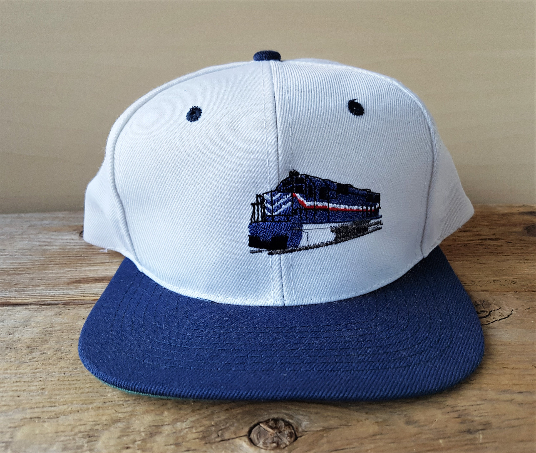 SOUTHERN RAILWAY Of BRITISH COLUMBiA Vintage 90s Snapback Hat  8ef3d00ec884